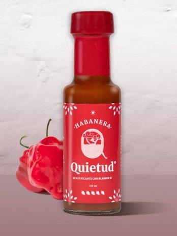 Salsa Habanera Botella de 125 ml.