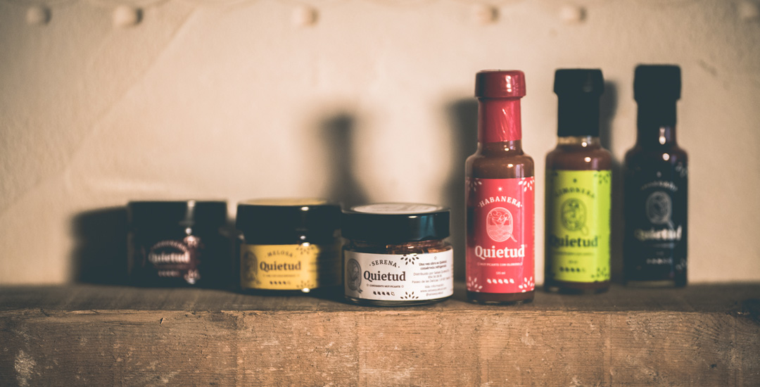 Lee más sobre el artículo Salsas Quietud, salsas picantes con sabor, comienza su andadura