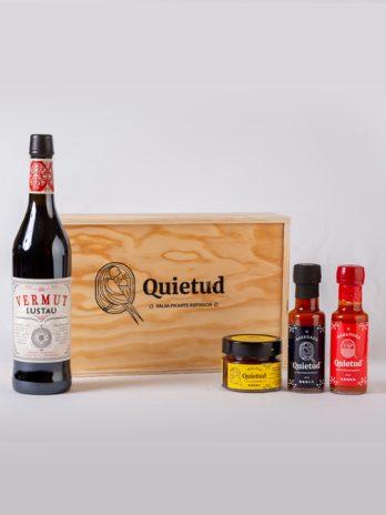Pack Vermut Rojo Lustau & Quietud